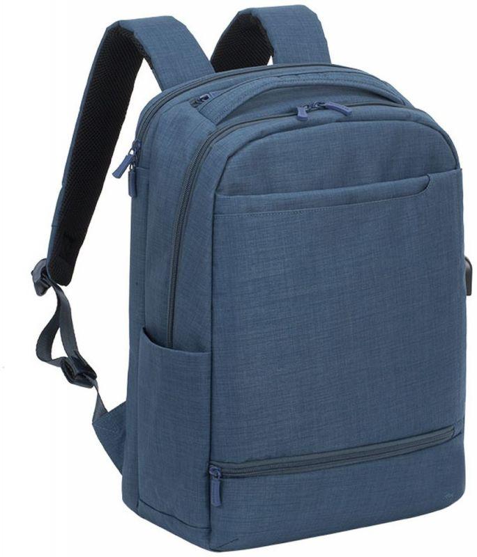 """Рюкзак для ноутбука 17.3"""" Riva 8365 синий полиэстер"""