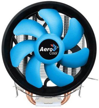 Устройство охлаждения(кулер) Aerocool Verkho 2 Plus Soc-FM2+/AM2+/AM3+/AM4/1150/1151/1155/ 4-pin 19-26dB Al+Cu 115W 444gr Ret