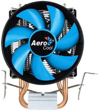 Устройство охлаждения(кулер) Aerocool Verkho 2 Dual Soc-FM2+/AM2+/AM3+/AM4/1150/1151/1155/2011/ 4-pin 20-29dB Al+Cu 120W 370gr Ret