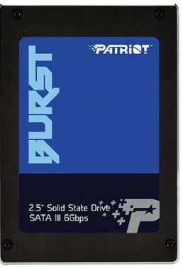 Накопитель SSD Patriot SATA III 120Gb PBU120GS25SSDR Burst 2.5