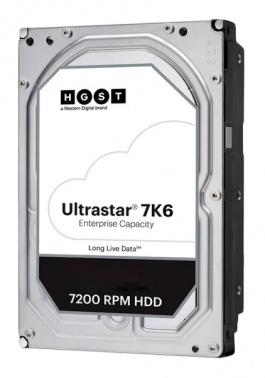 Жесткий диск HGST SAS 3.0 4Tb 0B36048 HUS726T4TAL5204 Ultrastar 7K6 (7200rpm) 256Mb 3.5