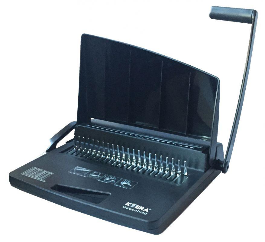 Переплетчик Kobra Queenbind 290V A4/перф.17л.сшив/макс.290л./пластик.пруж.-28мм)