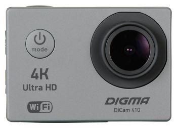 Экшн-камера Digma DiCam 410 серый