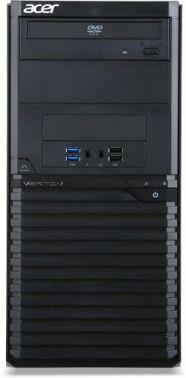 ПК Acer Veriton M2640G MT P G4560 (3.9)/4Gb/500Gb 7.2k/HDG/DVDRW/Free DOS/GbitEth/500W/клавиатура/мышь/черный
