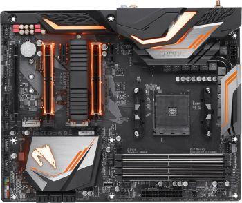 Материнская плата Gigabyte X470 AORUS GAMING 5 WIFI Soc-AM4 AMD X470 4xDDR4 ATX AC`97 8ch(7.1) GbLAN RAID