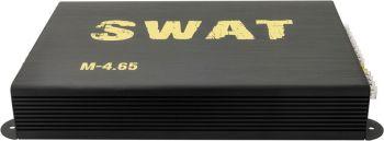 Усилитель автомобильный Swat M-4.65 четырехканальный