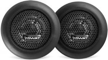 Колонки автомобильные Swat SP TW-M10 (без решетки) 100Вт 91дБ 4Ом 2.6см (1дюйм) (ком.:2кол.) твитер однополосные