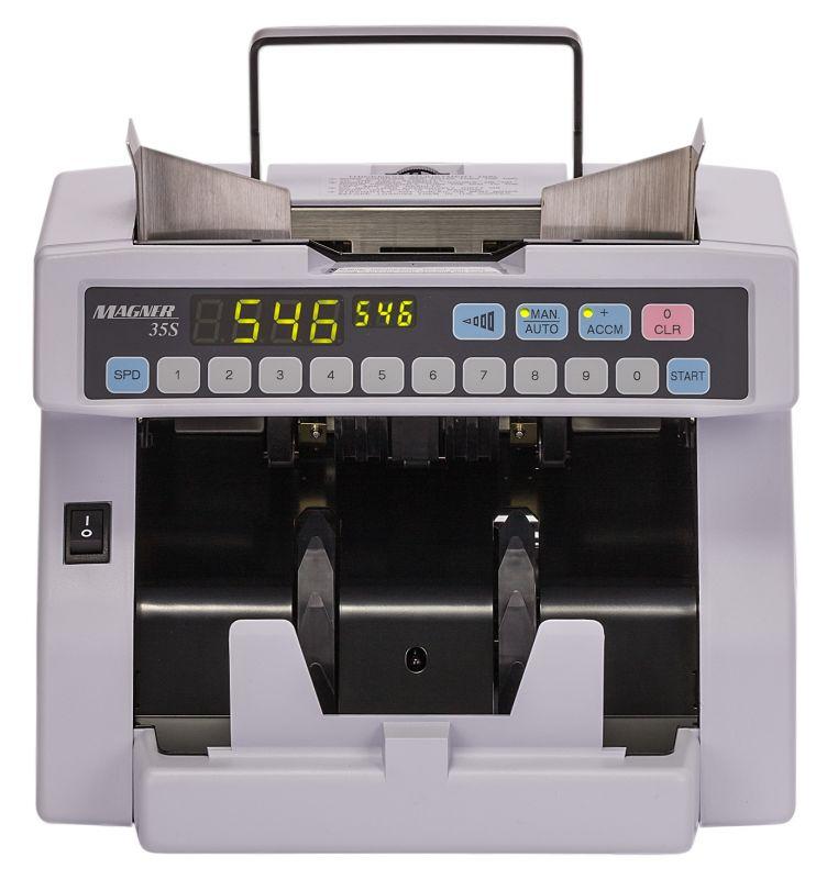 Счетчик банкнот Magner 35DC (35S) SYS-_6 мультивалюта
