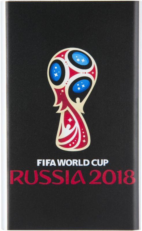 Мобильный аккумулятор Redline J01 FIFA Кубок Li-Pol 4000mAh 1A черный 1xUSB