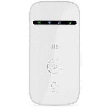 Модем 2G/3G ZTE MF65M Unlock USB Wi-Fi +Router внешний белый
