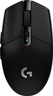 Мышь Logitech G305 Lightspeed серый оптическая (12000dpi) беспроводная USB (5but)