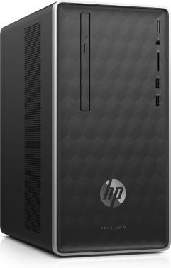 ПК HP Pavilion 590-a0004ur E2 9000 (1.8)/4Gb/1Tb 7.2k/R2/DVDRW/CR/Free DOS 2.0/GbitEth/WiFi/BT/65W/клавиатура/мышь/темно-серый