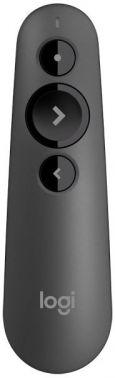 Презентер Logitech R500 Laser BT/Radio USB (20м) черный
