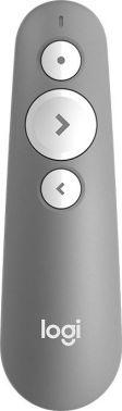 Презентер Logitech R500 Laser BT/Radio USB (20м) серый