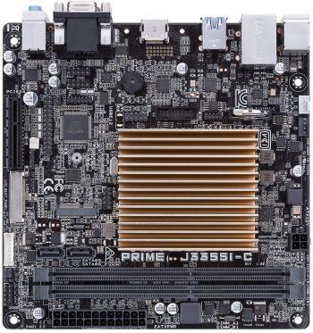 Материнская плата Asus PRIME J3355I-C 2xDDR3 mATX AC`97 8ch(7.1) GbLAN+VGA+HDMI