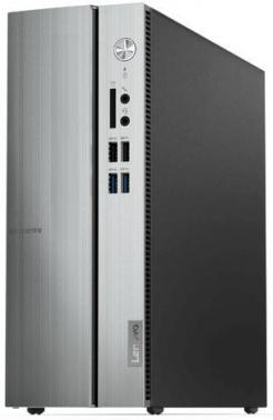 ПК Lenovo IdeaCentre 510S-07ICB SFF Cel G4900 (3.1)/4Gb/SSD128Gb/UHDG 610/Free DOS/GbitEth/серебристый
