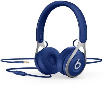 Гарнитура мониторы Beats EP 1.6м синий проводные (оголовье)
