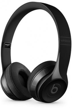 Гарнитура накладные Beats Solo3 1.36м черный глянец беспроводные bluetooth (оголовье)