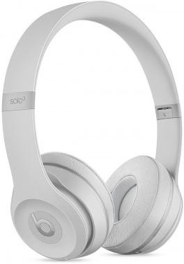 Гарнитура накладные Beats Solo3 1.36м серебристый глянцевый беспроводные bluetooth (оголовье)