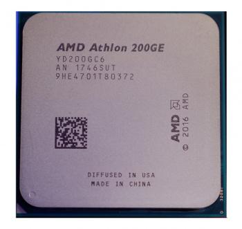 Процессор AMD Athlon 200GE AM4 (YD200GC6FBBOX) (3.2GHz/100MHz/Radeon Vega 3) Box