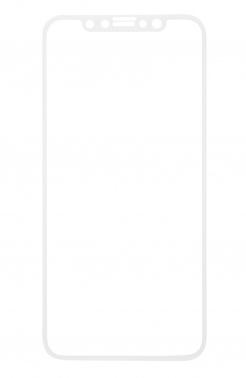Защитное стекло для экрана Redline Full Screen белый для Apple iPhone X/XS 1шт. (УТ000012294)
