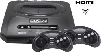 Игровая консоль Sega Mega Drive Retro Genesis HD Ultra 2 черный в комплекте: 50 игр