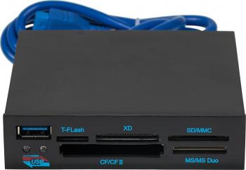 Устройство чтения карт памяти USB3.0 GL3233 SuperSpeed ALL-in-ONE черный