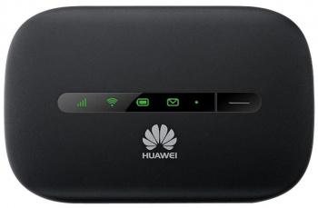 Модем 2G/3G Huawei e5330Bs-2 USB Wi-Fi +Router внешний черный