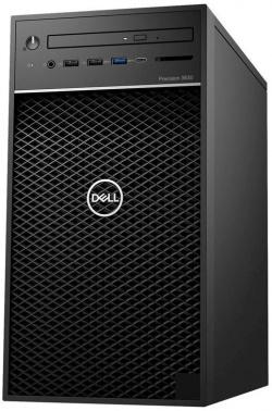 ПК Dell Precision 3630 MT Xeon E3 2124G (3.4)/8Gb/1Tb 7.2k/UHDG P630 4Gb/DVDRW/CR/Windows 10 Professional 64/GbitEth/460W/черный