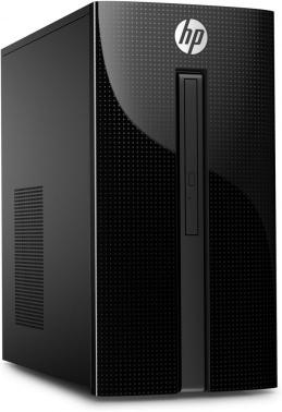 ПК HP 460-a214ur MT CelDC J3060 (1.6)/4Gb/1Tb 7.2k/HDG/DVDRW/Free DOS 2.0/GbitEth/65W/черный