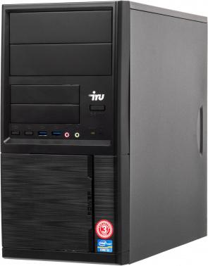 ПК IRU Office 312 MT P G4500T (3)/4Gb/500Gb 7.2k/HDG530/Free DOS/GbitEth/400W/черный