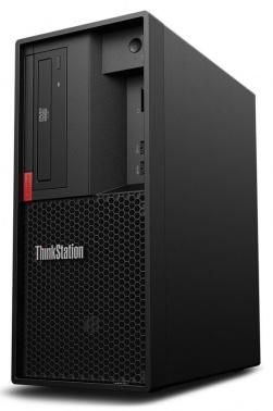 ПК Lenovo ThinkStation P330 MT i7 8700 (3.2)/8Gb/SSD256Gb/DVDRW/Windows 10 Professional 64/250W/клавиатура/мышь/черный