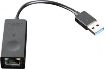 Адаптер Lenovo ThinkPad USB3.0 to Ethernet Adapter (4X90S91830) черный