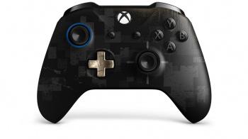 Геймпад Беспроводной Microsoft PUBG LE черный для: Xbox One (WL3-00116)