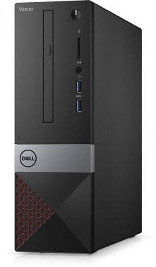 ПК Dell Vostro 3470 SFF PG G5400 (3.7)/4Gb/1Tb 7.2k/UHDG 610/DVDRW/CR/Linux Ubuntu/GbitEth/WiFi/BT/клавиатура/мышь/черный