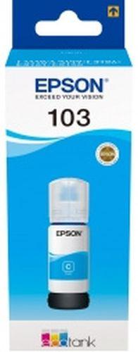 Картридж струйный Epson 103C C13T00S24A голубой (65мл) для Epson L3100/3110/3150