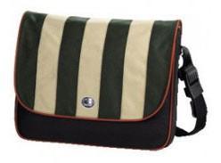 """Сумка для ноутбука 15.4 """", Caseman Plus, зелено-оливковый верх, 41x11x35..."""