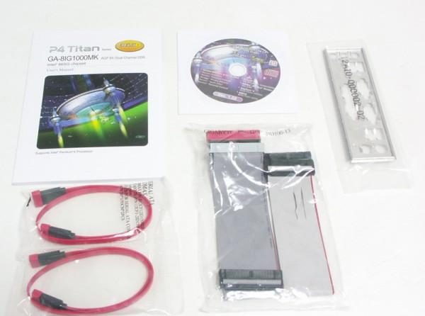 Фотографии Материнская плата Gigabyte GA-8IG1000MK Soc-478 i865G mATX SATA/PATA AC97 6ch +LAN +VGA.