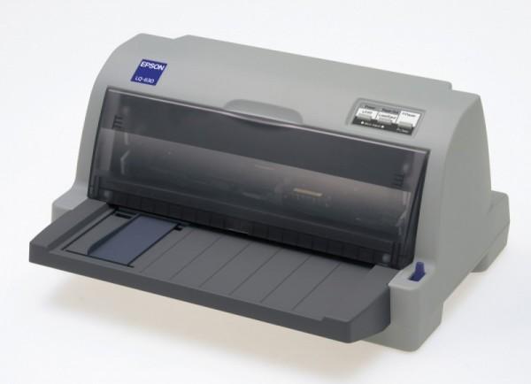 Принтер матричный Epson LQ-630 (C11C480019/C11C480141) A4 USB LPT серый