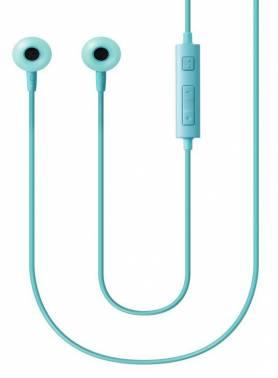 Гарнитура вкладыши Samsung EO-HS130 1.2м голубой проводные (в ушной раковине)