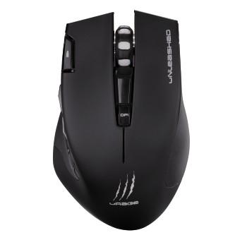 Мышь Hama uRage Unleashed черный оптическая (3000dpi) беспроводная USB игровая (5but)