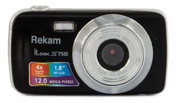 Фотоаппарат Rekam iLook S750i черный 12Mpix 1.8