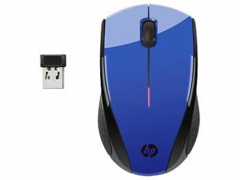 Мышь HP X3000 синий оптическая (1200dpi) беспроводная USB (3but)