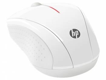 Мышь HP X3000 белый оптическая (1200dpi) беспроводная USB (3but)