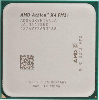 Процессор AMD Athlon X4 840 FM2+ (AD840XYBJABOX) (3.1GHz/5000MHz) Box