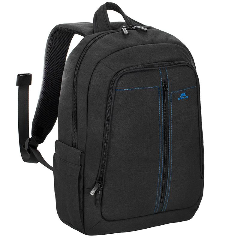 """Рюкзак для ноутбука 15.6"""" Riva 7560 черный полиэстер"""