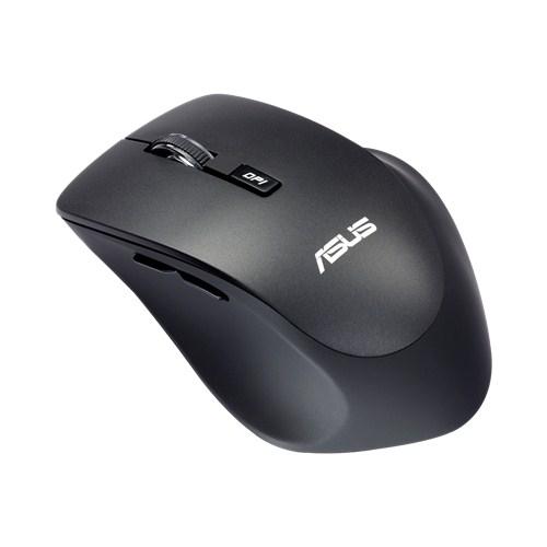 Мышь Asus WT425 черный оптическая (1600dpi) беспроводная USB2.0 для ноутбука (5but)