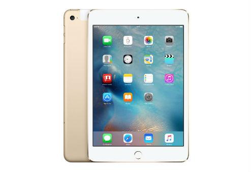 "Планшет Apple iPad mini 4 MK782RU/A A8 (1.0) 2C/RAM2Gb/ROM128Gb 7.9"" IPS 2048x1536/3G/4G/iOS/золотистый/8Mpix/1.2Mpix/BT/WiFi/Touch/EDGE/10hr"