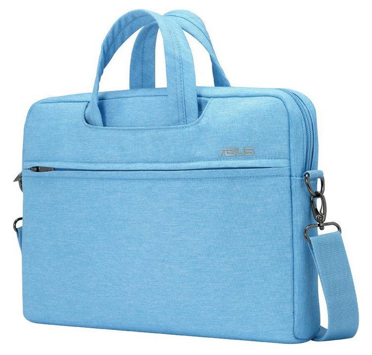 """Сумка для ноутбука 12"""" Asus EOSSHOULDERBAG голубой полиэстер (90XB01D0-BBA010)"""