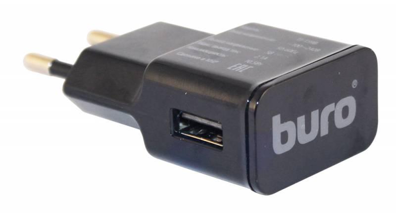 Сетевое зар./устр. Buro TJ-159b 2.1A универсальное черный